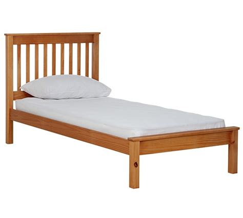 Buy Collection Aspley Single Bed Frame Oak Stain At Single Bed Frame Argos