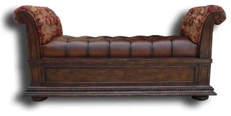 decorative benches indoor new bench leather decorative wood trim traditional