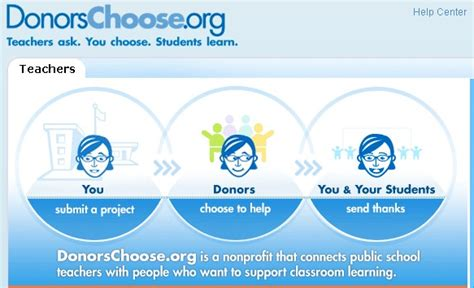donors choose educational technology donorschoose get materials