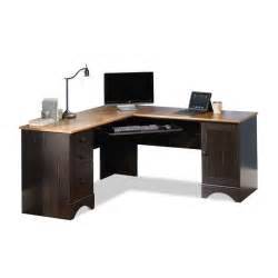 Corner Desk For Computer Harbor View Sauder Corner Computer Desk