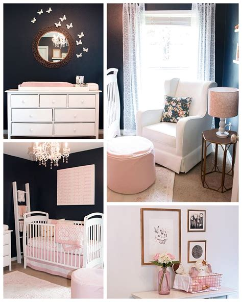 Pink And Navy Nursery Decor 25 Best Blue Nursery Ideas On