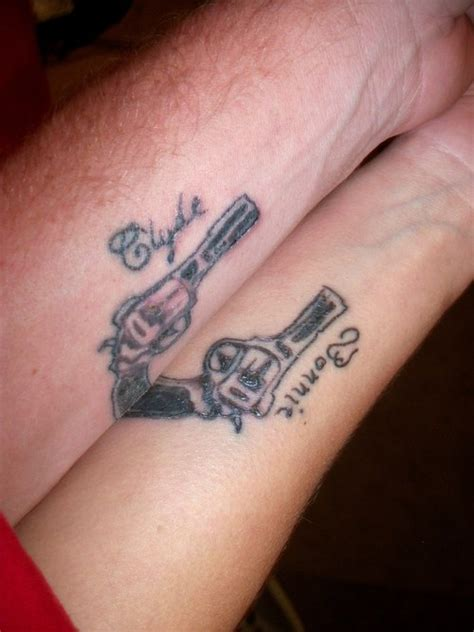 bonnie and clyde tattoos tattoo picture at checkoutmyink com