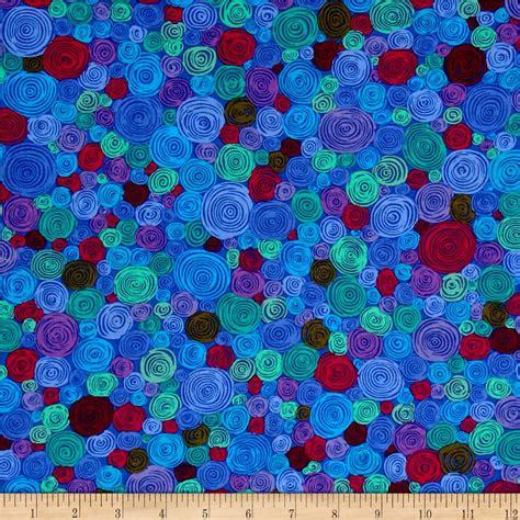 kaffe fassett rolled paper blue discount designer fabric