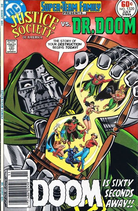 detention of doom dc comics secret society 3 books team family the lost issues justice society of