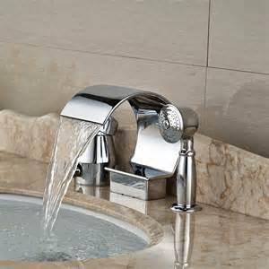 aliexpress buy deck mount waterfall spout bathroom