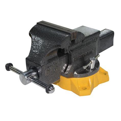 rotating bench vise yost 5 in heavy duty multi jaw rotating combination pipe
