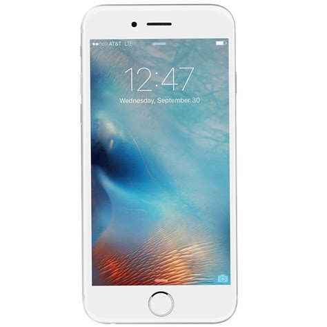 new apple iphone 6s 16gb gsm factory unlocked silver smartphone protect my phones