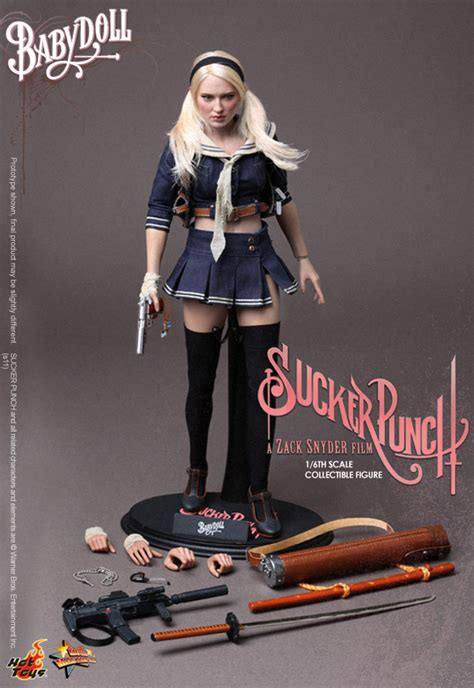 Suckerpunch Hottoys Ofc Never Display new toys 12 quot sucker punch babydoll figure 1 6 emily browning sculpt ebay