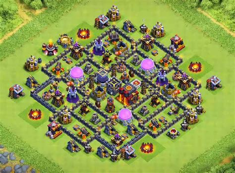 coc layout th8 anti loot top 14 best th8 farming base 2018 new update anti