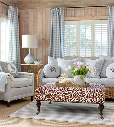 bungalow decor gingham a fresh new look for a classic style
