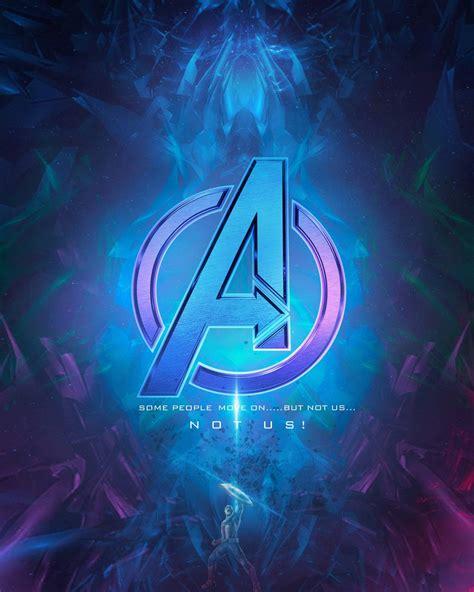 avengers logo neon wallpaper  sairockstar