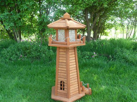 wooden lawn ornaments lighthouses garden artisans