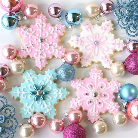 cookie remix an collection of treats inspired by sodas candies creams donuts and more books vintage pastel snowflakes flickr photo