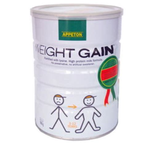 Penambah Berat Badan Appeton Weight Gain penambah berat badan anda trikdiet