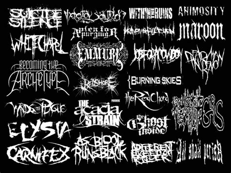 best deathcore bands 63 best images about deathcore metal bands lyrics on