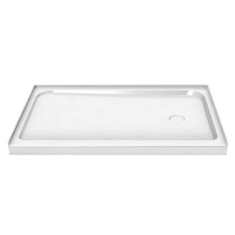 42 X 32 Shower Pan by Maax 60 In X 32 In Single Threshold Shower Base With