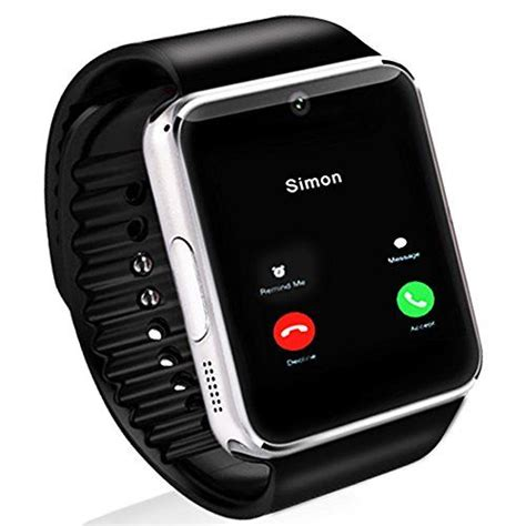 gt08 bluetooth smart wrist watch sim phone mate for iphone yitamotor 1 54 gt08 touch screen bluetooth smart wrist