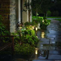 Outdoor Walkway Lighting Portland Landscapers Offer Unique Lighting Ideas For Outdoor Living Areas