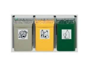 poubelle murale pour tri s 233 lectif contact distribution