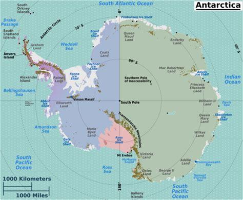 map of antarctica antarctica wikitravel