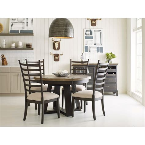 dining room groups kincaid furniture plank road casual dining room group