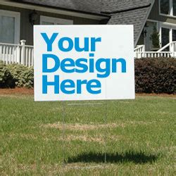 backyard signs custom caign yard lawn signs 2minds design sign