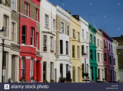 buy house notting hill multi coloured houses lancaster road notting hill
