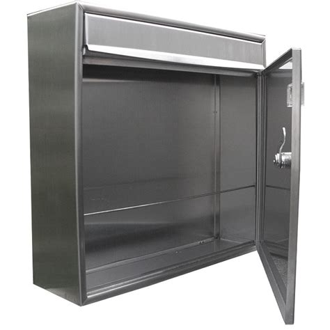 stainless steel mailbox european home stainless steel modern contemporary view
