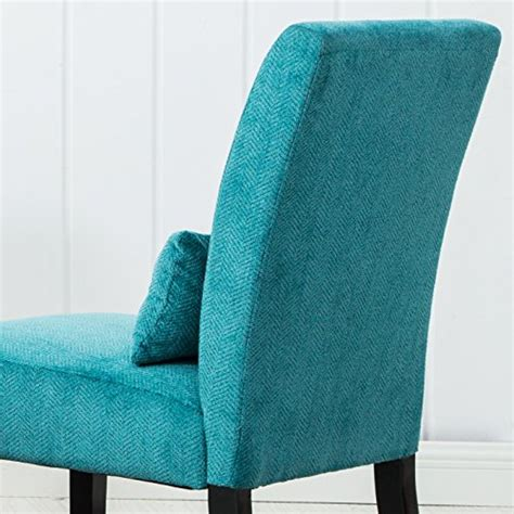 teal blue accent chair roundhill furniture pisano teal blue fabric armless