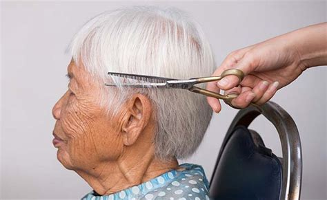 Hairstyles Photos For 60 by Hairstyles For 60 Year With Glasses