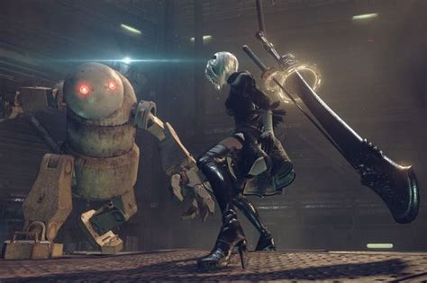 Kaset Ps4 Nier Automata nier automata coming to pc march 17 just 10 days after its ps4 launch