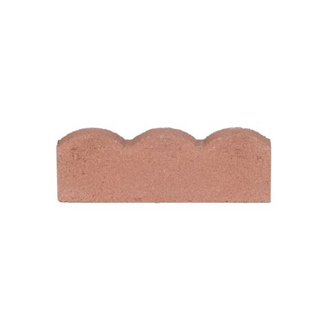 Lowes Garden Bricks by Shop Scalloped Edging Common 16 In X 2