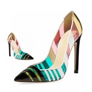 multi colored shoes aliexpress popular multi colored heels in shoes