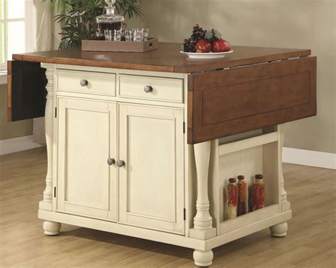 home dining room kitchen island cottage style geneva hills drop leaf dcg stores