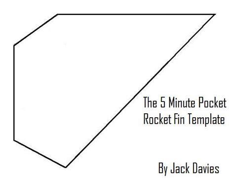 air rocket template the 5 minute pocket rocket stabilization