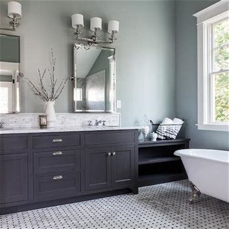 charcoal gray bathroom charcoal gray vanity transitional bathroom elizabeth