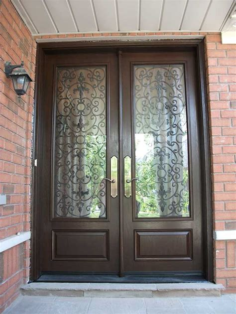8 Foot Front Door Custom Fiberglass Exterior Doors