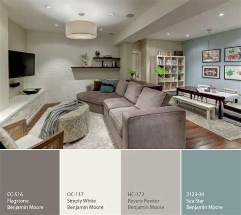 paint color ideas for the basement house