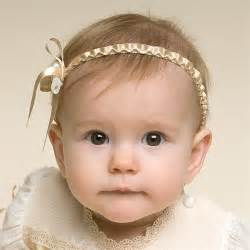 adorable girls headband of ivory silk flowers great for baby girl headband louisa collection adorable baby