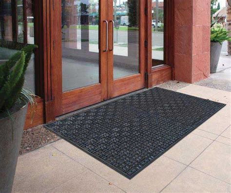 Entry Mats Commercial by Aquaflow Outdoor Commercial Drainage Entrance Mat