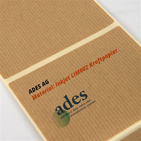 Etiketten Drucken Papier by Inkjet Vintage Etiketten Ades