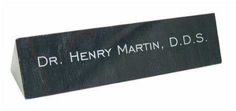 Desk Name Bar by Marble Name Bar