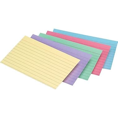 printable index cards color staples 174 assorted color index cards staples 174