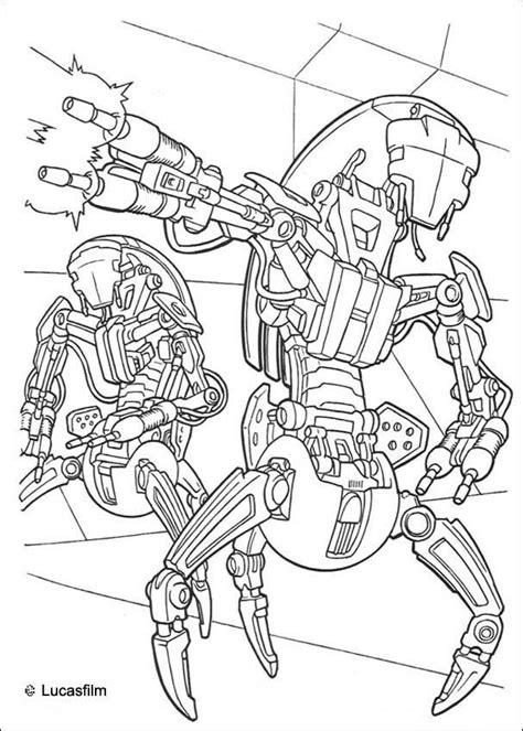 dessins de coloriage star wars vaisseau  imprimer