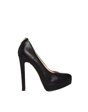 Corset Detail Stiletto Court Shoe At Asos by New Look New Look Pulling Zip Detail Platform Court