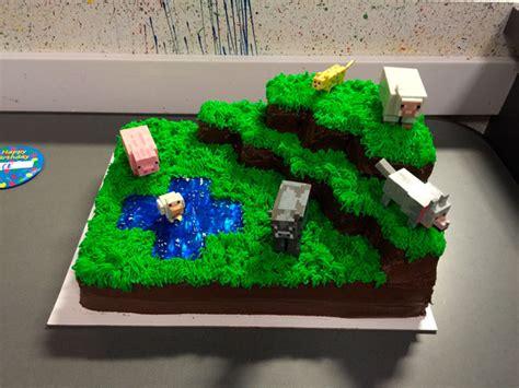 Ee   Ee   Tortas De Minecraft A Las Que Desearias Hi Ar Elnte