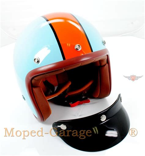design roller helm moped garage net chopper custom motorrad roller jet helm
