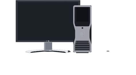 clipart pc desktop pc clip at clker vector clip