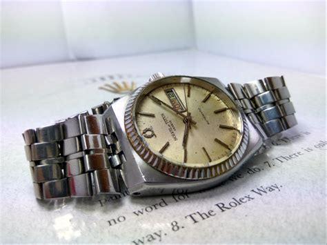 jual jam tangan bekas original solvil  titus geneve anti