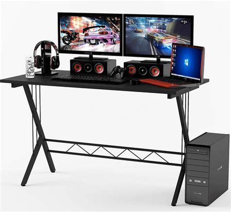 Atlantic Gaming Computer Desk 20 Best Gaming Desk Feb 2018 Computer Gaming Desk Reviews